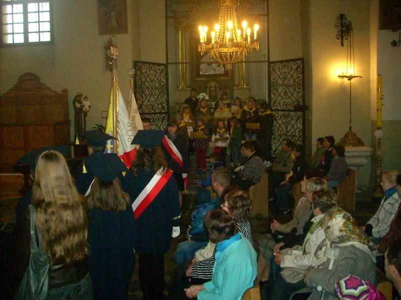 Dzień Papieski w kościele